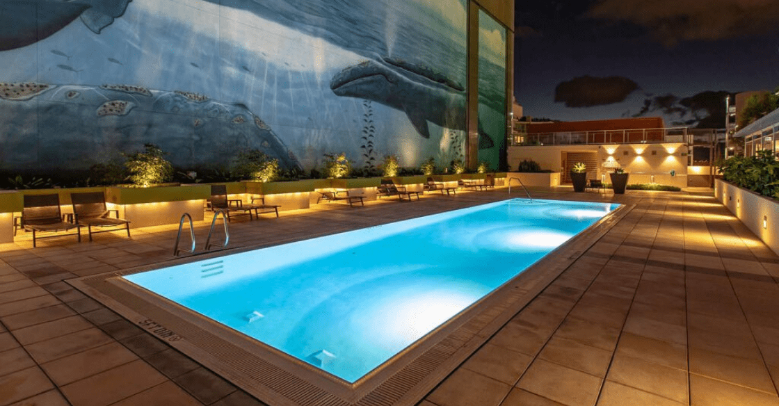 Pool at Allegro Towers