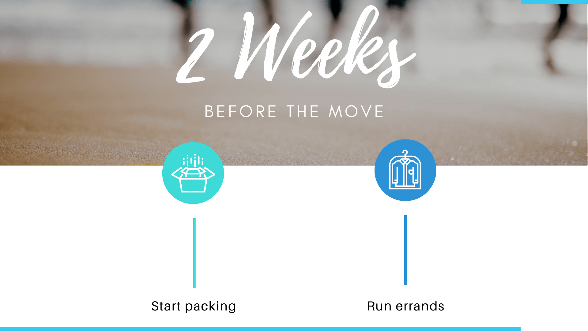 What to do 2 weeks before the move date
