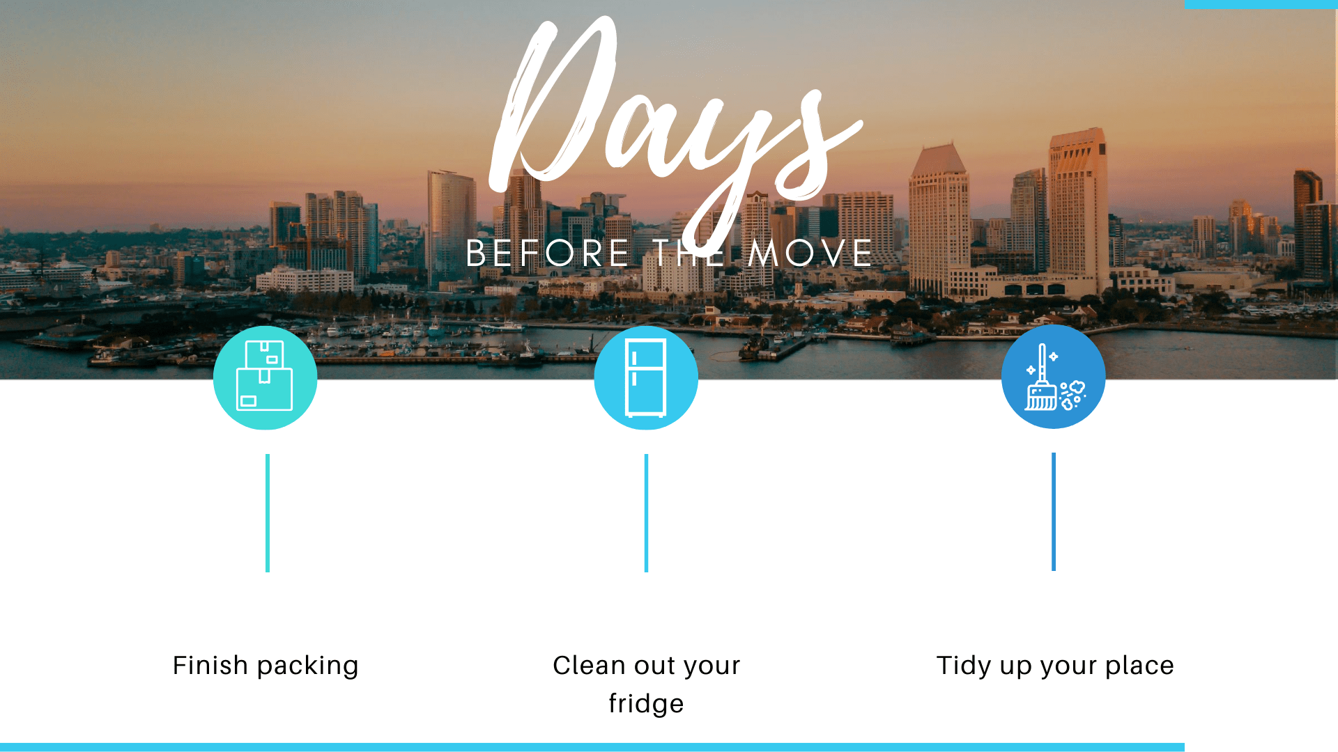 How to prepare days before your move