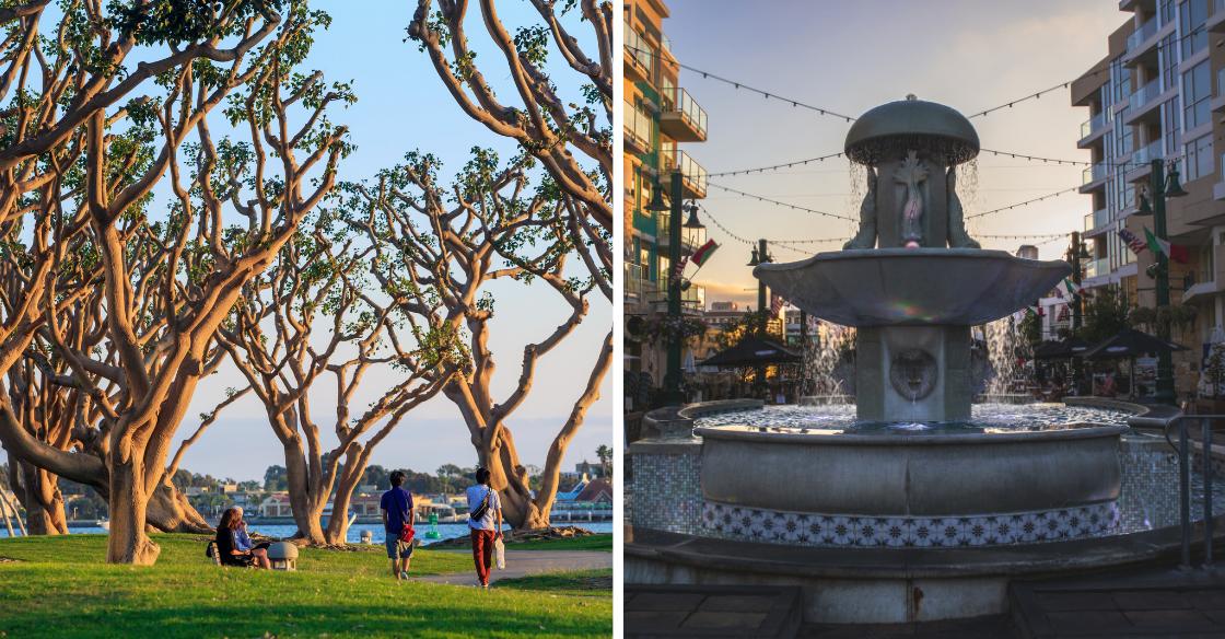 Waterfront Park, Piazza della Famiglia, Little Italy San Diego